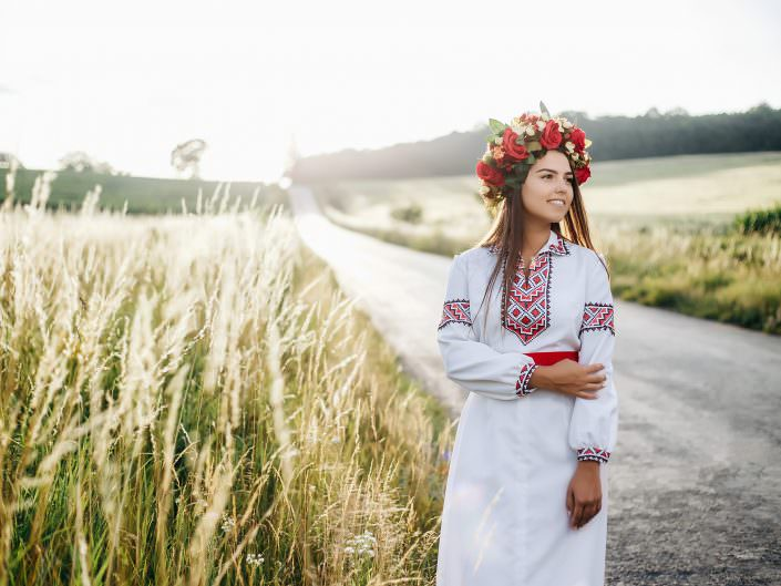 Ukrainian girl